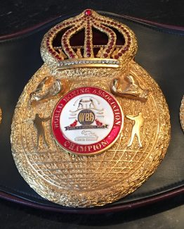 william joppys ring won wba world championship belt